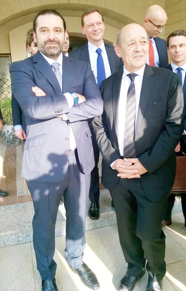 الحريري يقبل دعوة الرئيس الفرنسي