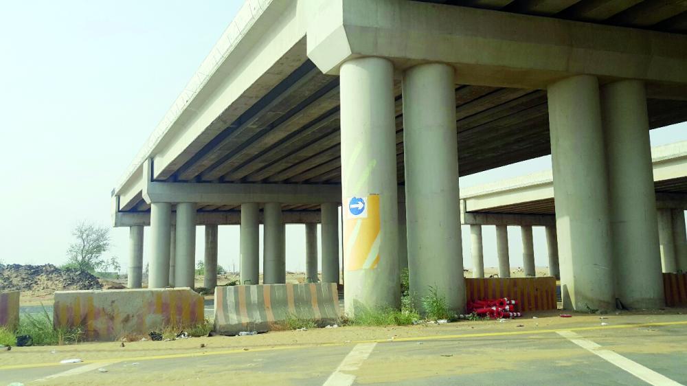 جسر الساحل بجازان. (عكاظ)