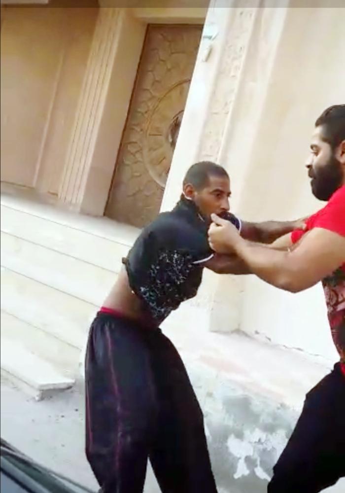 جانب من الاعتداء
