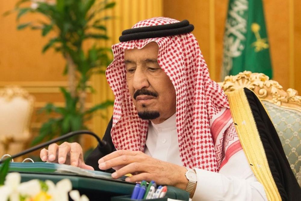 خادم الحرمين الشريفين مترئسا جلسة مجلس الوزراء اليوم الثلاثاء