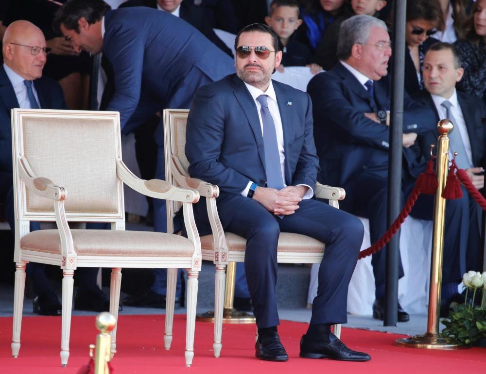 الحريري يتريث في الاستقالة ويتمسك بحياد لبنان وعمقه العربي
