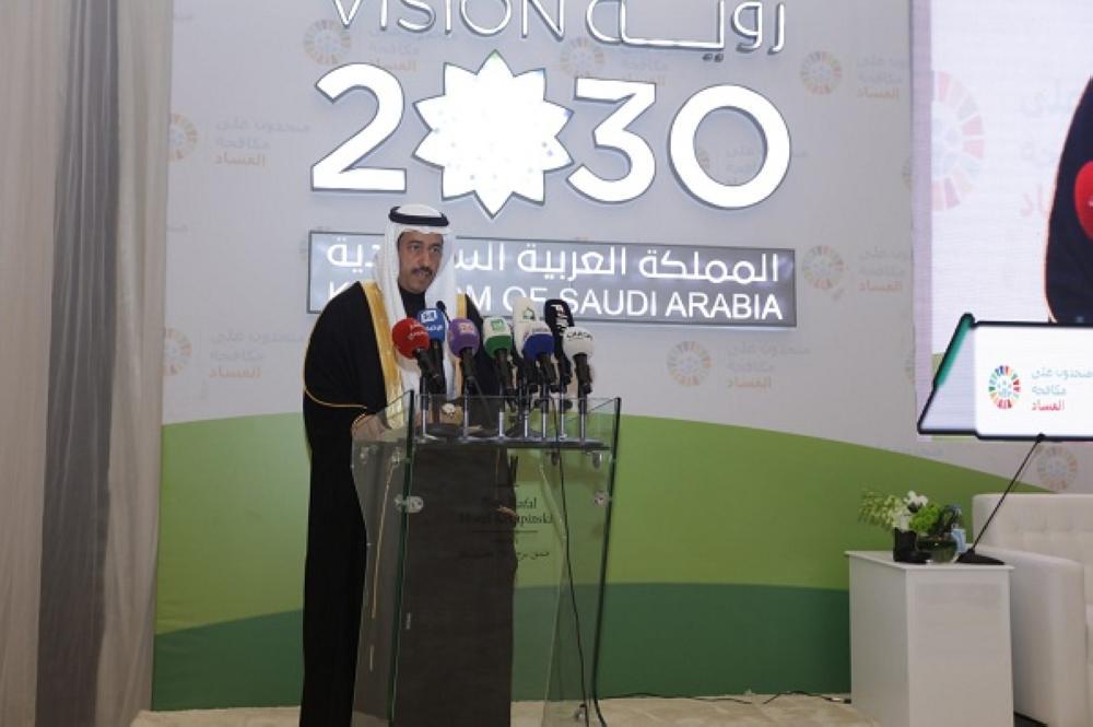 رئيس الهيئة الوطنية لمكافحة الفساد خالد المحيسن