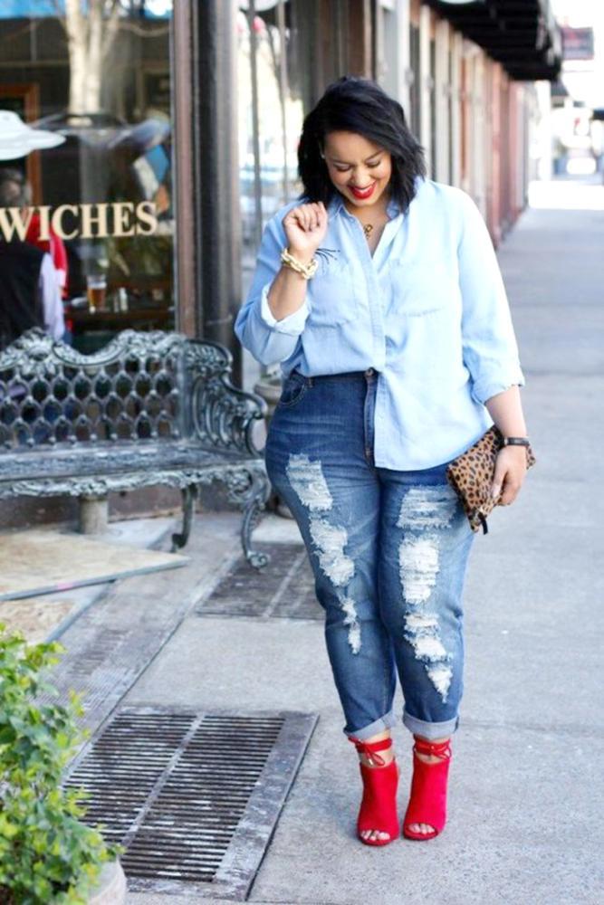 5 نصائح لإخفاء السمنة باستخدام الأزياء