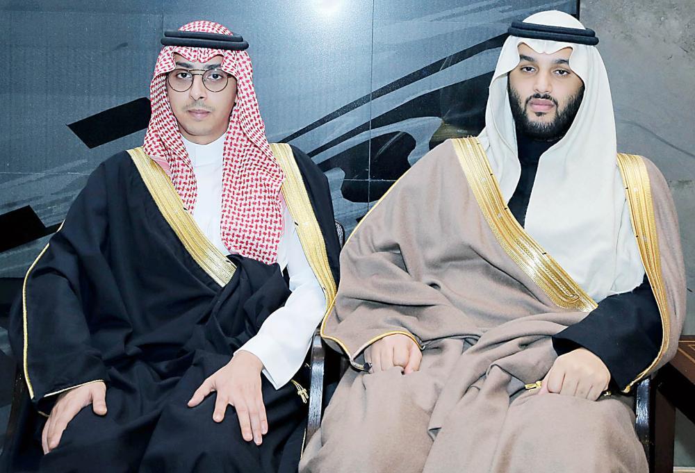 أمير الرياض يشر ف زواج سلطان بن تركي بن سعود أخبار السعودية صحيقة عكاظ