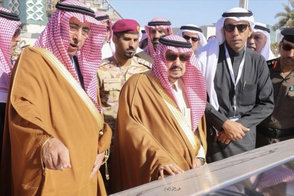 أمير الرياض يفتتح المرحلة الثانية من مشروع تطوير طريق تركي «الأول»