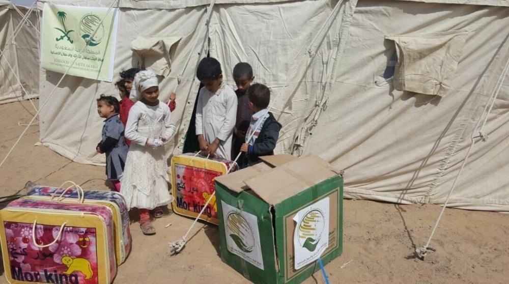 مركز الملك سلمان يدشن مشروع المساعدات الإيوائية للنازحين في مأرب