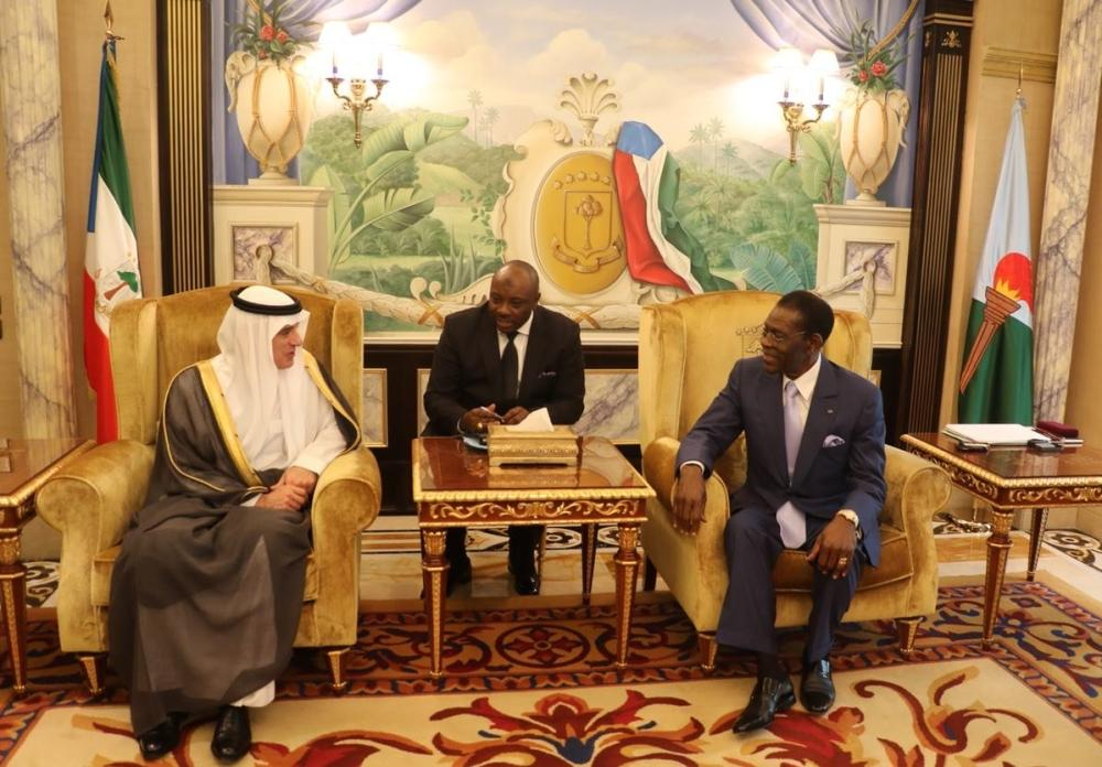 President of Congo receives Saudi Minister of Foreign Affairs