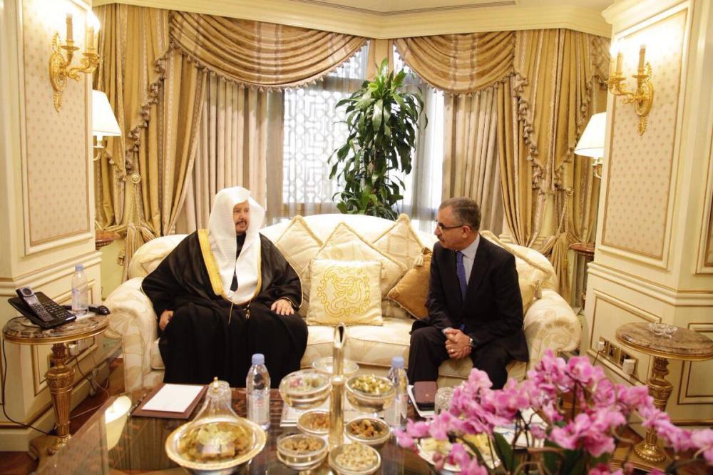 «رئيس الشورى» يبحث تعزيز التعاون البرلماني مع الشوابكة