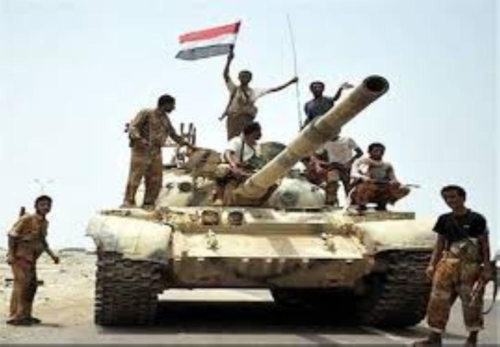 الجيش اليمني يستعيد موقعين في محافظة لحج