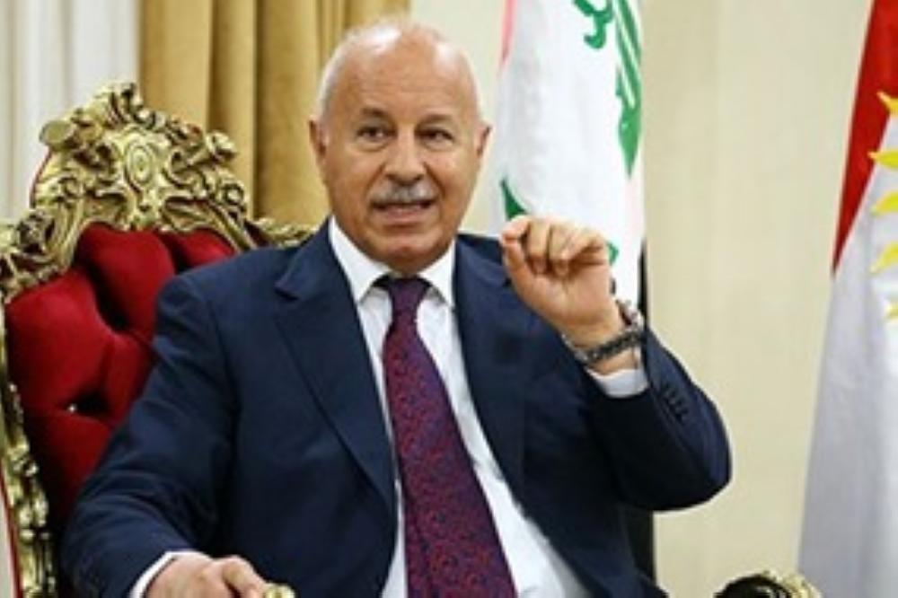 وزير داخلية إقليم كردستان العراق كريم سنجاري.