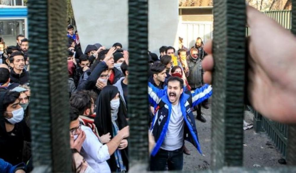 متظاهرون إيرانيون