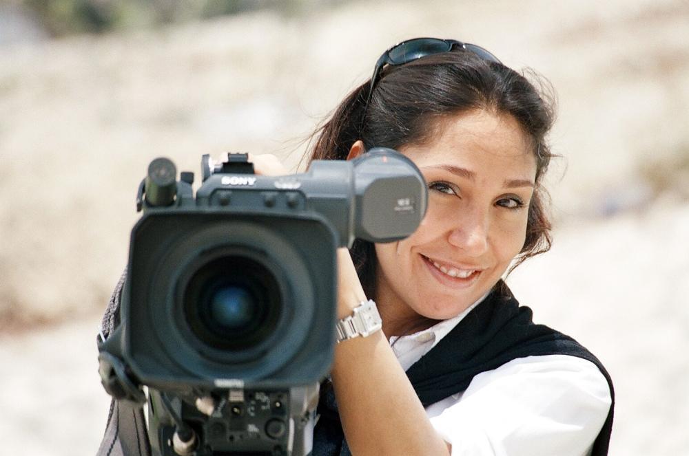 المخرجة السعودية هيفاء المنصور.