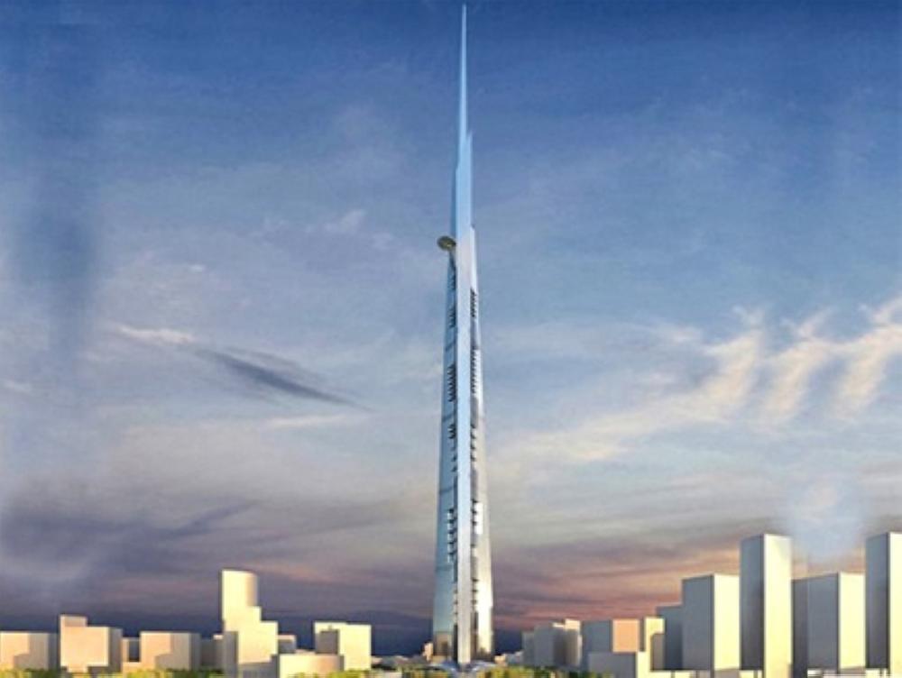 620 مليون ريال لإنشاء أطول برج في العالم بجدة