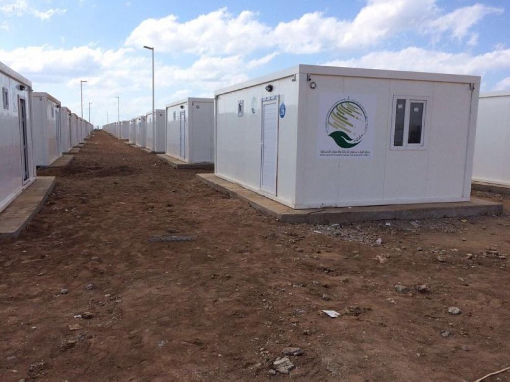 إنجاز 85% من مشروع 300 وحدة سكنية للاجئين اليمنيين في جيبوتي
