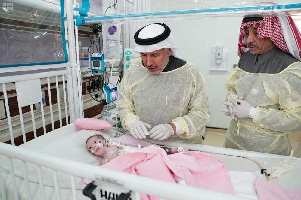 الربيعة: استقرار حالة الطفلة الفلسطينية حنين ونقلها لجناح الأطفال
