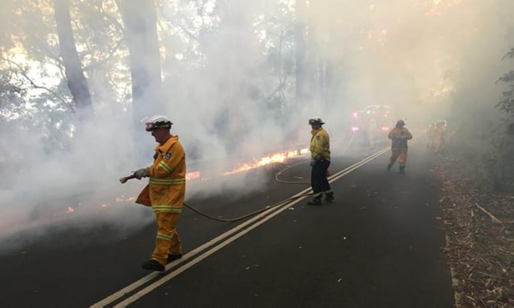 أستراليا تشهد سلسلة حرائق بالغابات