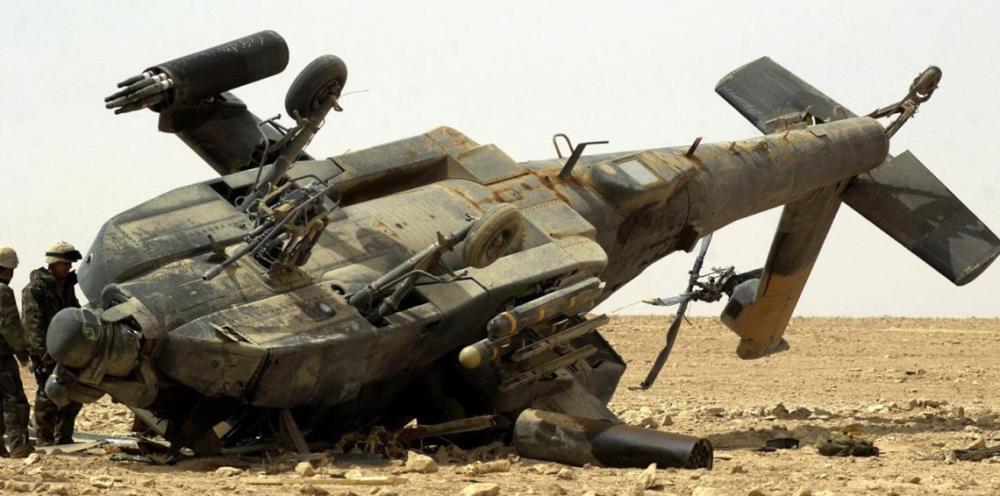 تحطم هليكوبتر للجيش الأمريكي ومقتل جنديين
