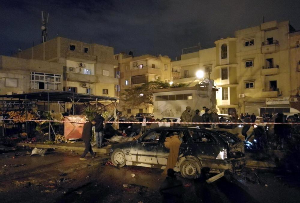 ارتفاع حصيلة تفجيري بنغازي إلى 33 قتيلاً و51 جريحًا