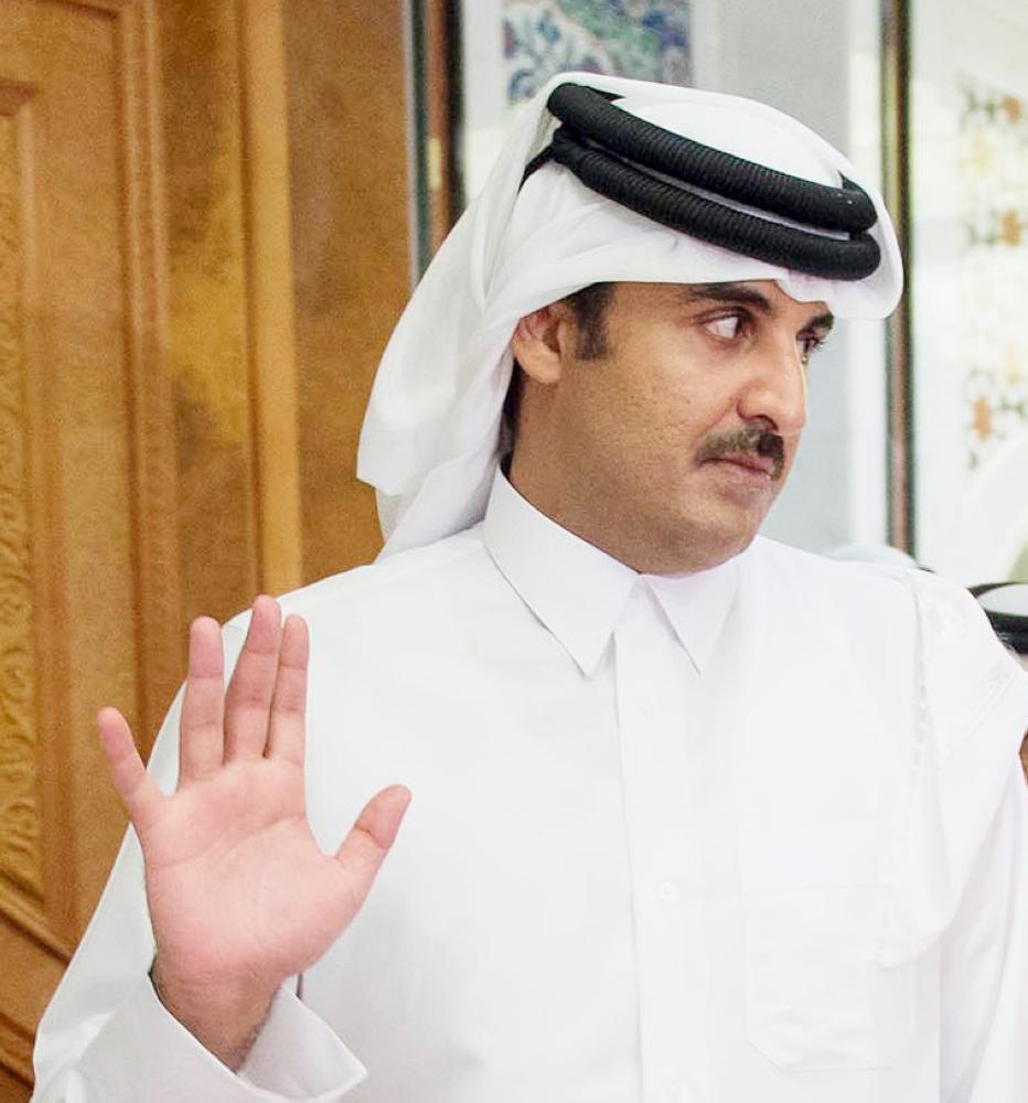 التقى تميم كلاين في زيارة سرية للأخير إلى الدوحة، واستمر اللقاء ساعتين.