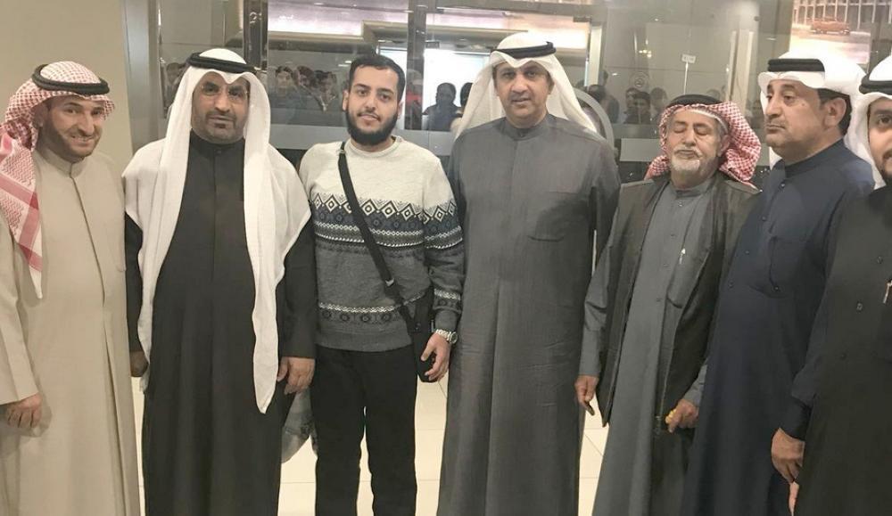 وصول المواطن الكويتي