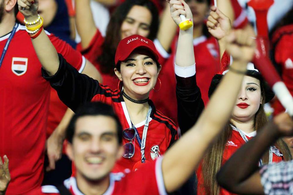 الجماهير المصرية في أحد لقاءات منتخب بلادها. (أرشيفية)