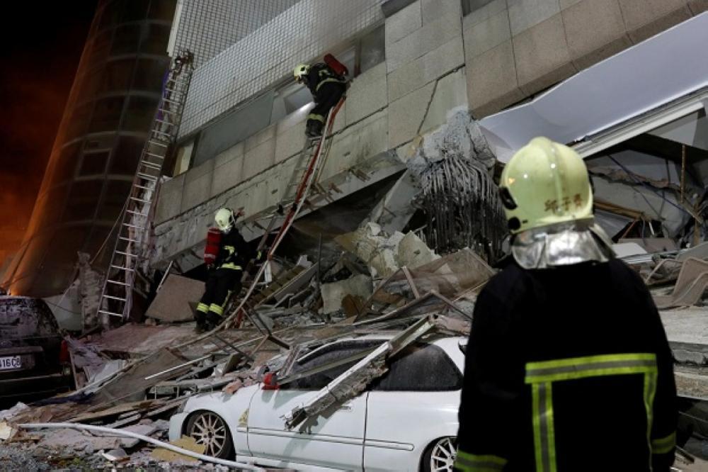 ارتفاع حصيلة ضحايا زلزال تايوان إلى 6 قتلى و200 مصاباً