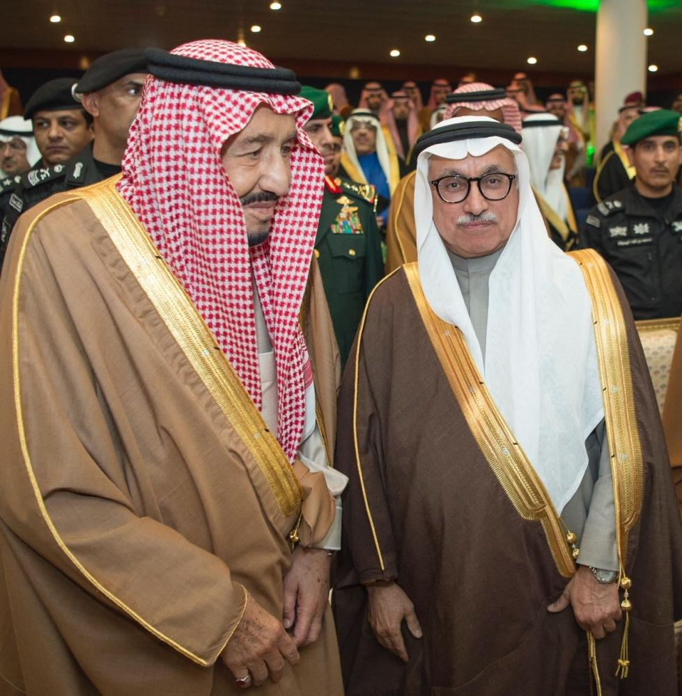 الميمان خلال تكريم خادم الحرمين بالجنادرية