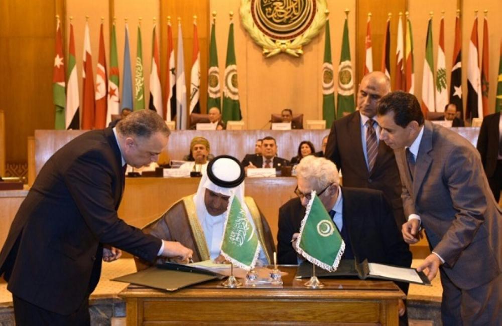 المملكة توقع اتفاقية التعاون الجمركي العربي