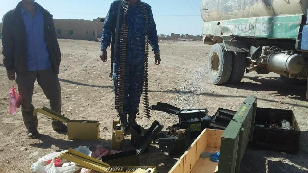 ضبط شحنة أسلحة مهربة للميليشيا الحوثية في الجوف
