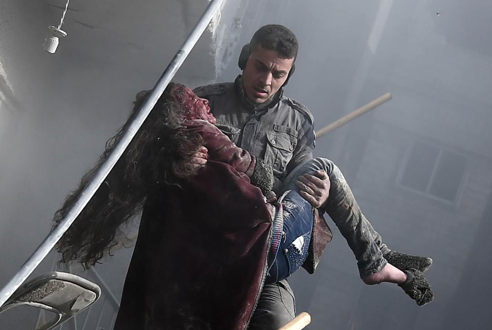 المقاومة الإيرانية تُدين قصف الغوطة الشرقية وتُحمل المسؤولية لنظام الملالي