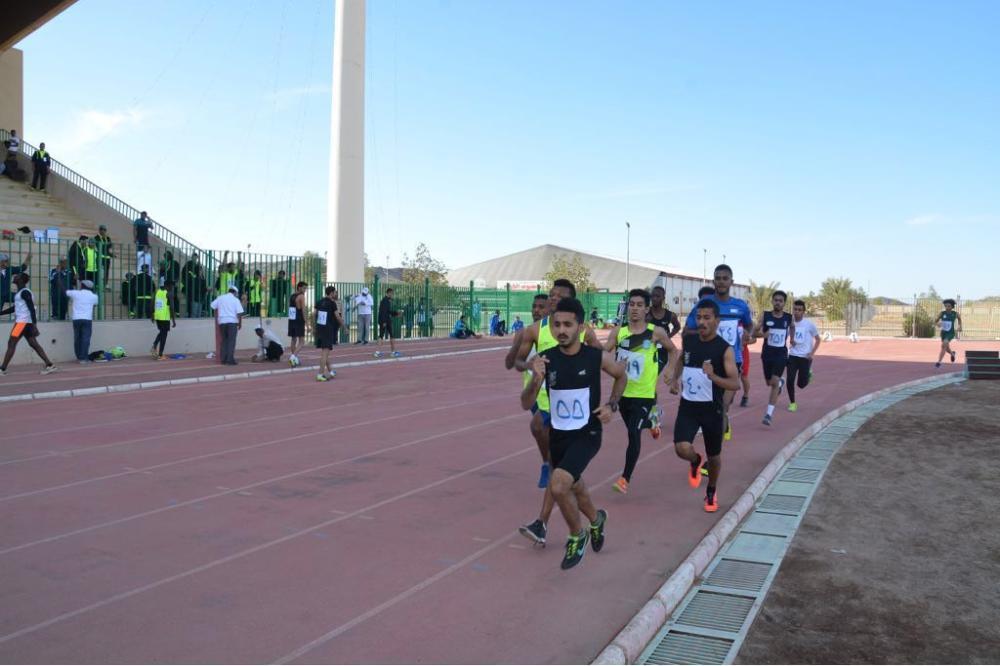انطلاق منافسات ألعاب القوى لبطولة الجامعات في بيشة