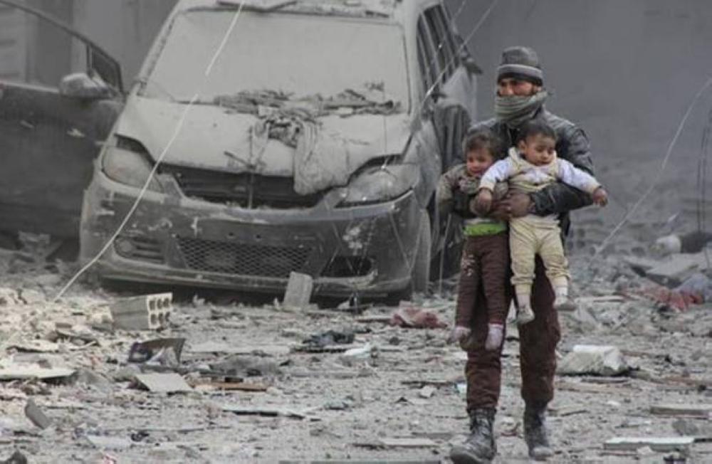 «كارثة» إنسانية في الغوطة وقوات النظام تعرقل عمليات الإغاثة