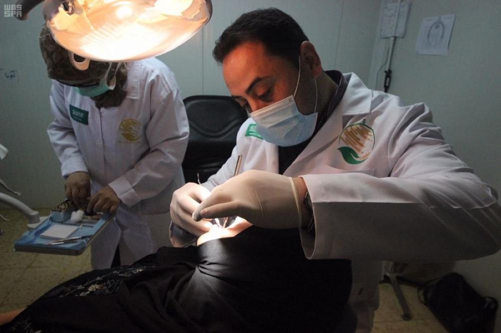 عيادات مركز الملك سلمان تواصل تقديم خدماتها للاجئين في الزعتري