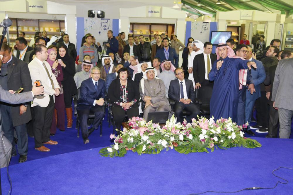 التنوع والتوثيق توَّجا جناح المملكة بالمركز الأول في «كتاب القاهرة»