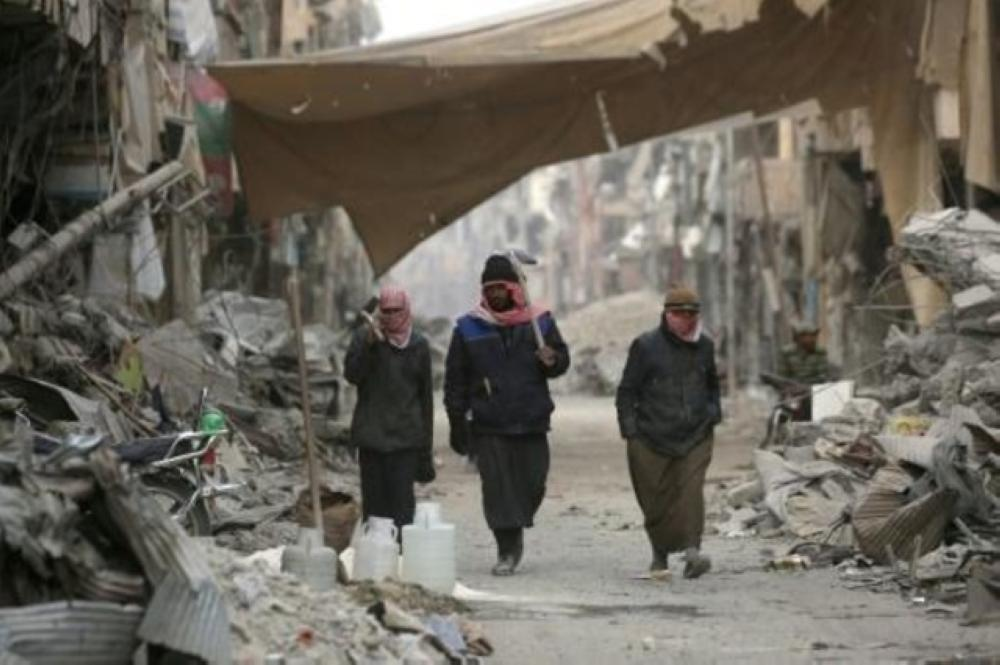 محافظة الرقة شمال سورية