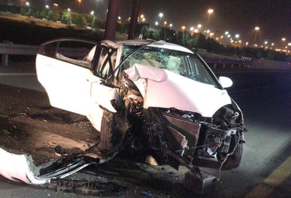 مكة: وفاة وإصابة 6 في تصادم أمام مسجد نمرة
