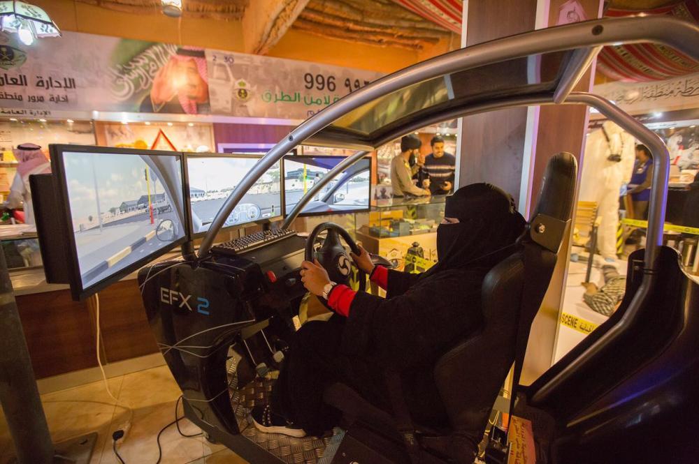 كيف قادت «المرأة السعودية» السيارة في الجنادرية؟