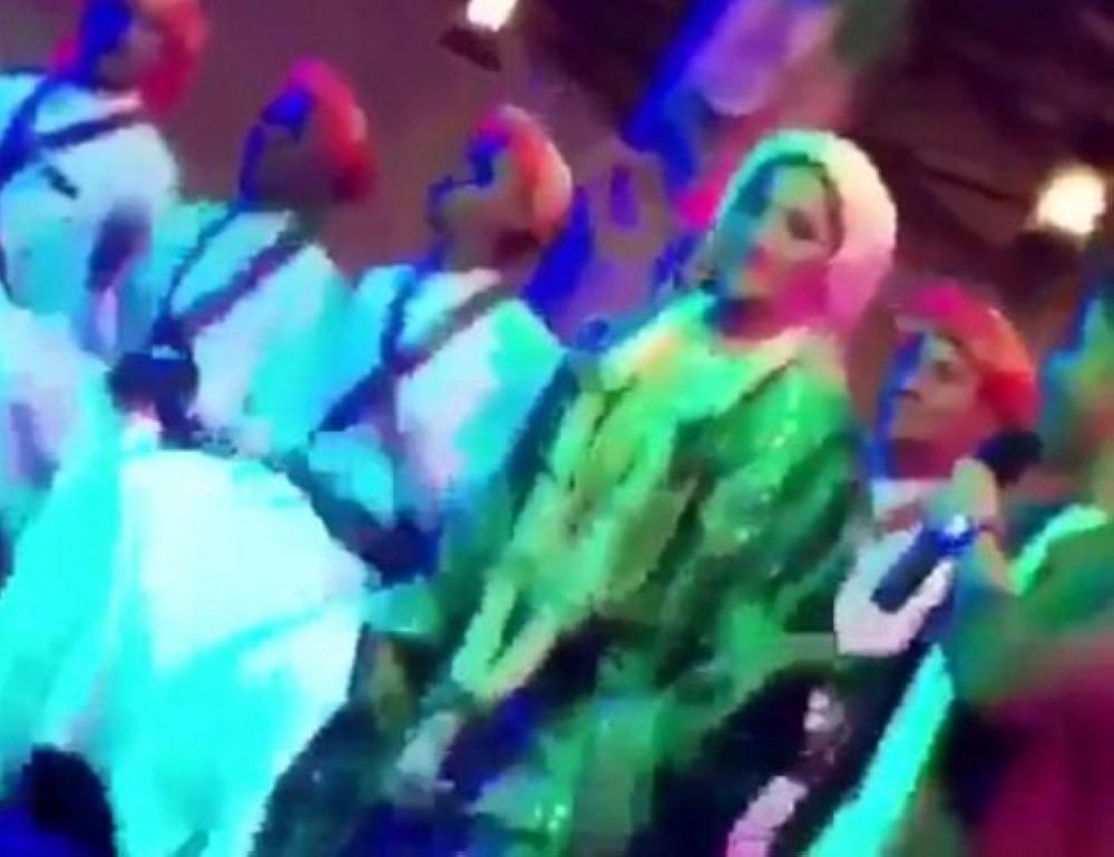 صورة للفتاة من مقطع الفيديو المتداول