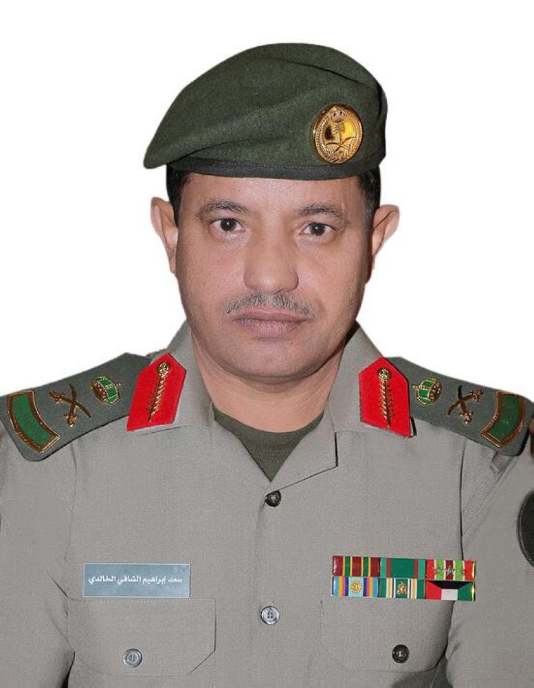 اللواء سعد الخالدي