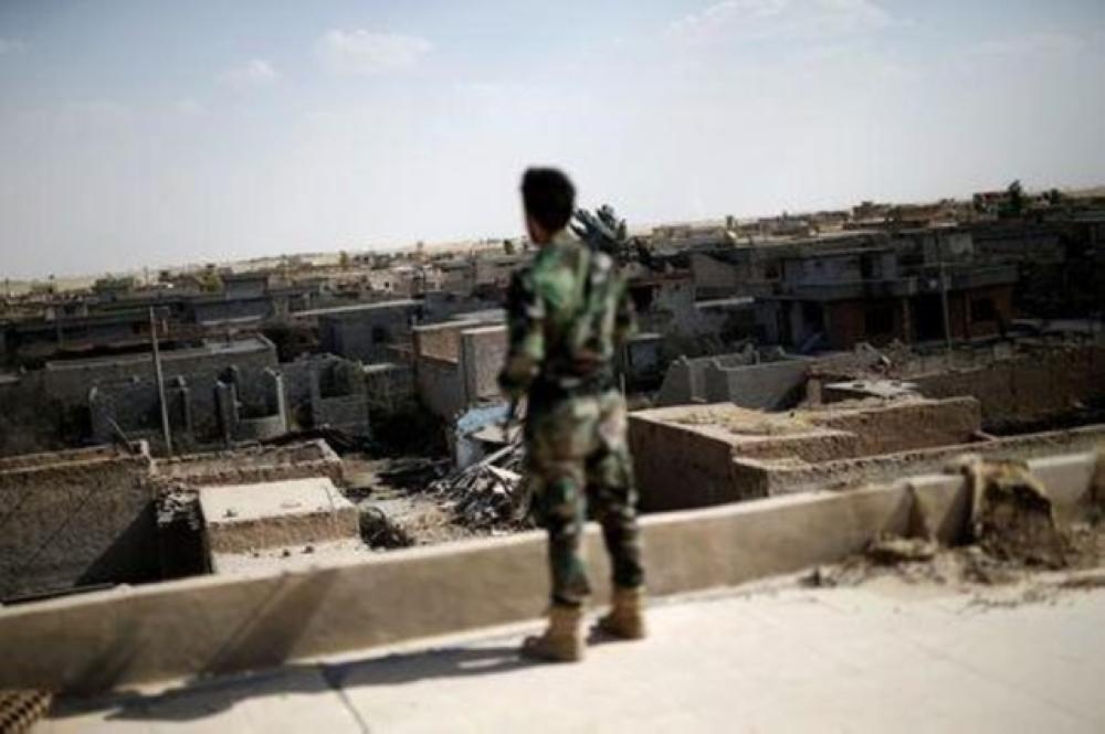عناصر من داعش تنصب كمين لقافلة من الحشد