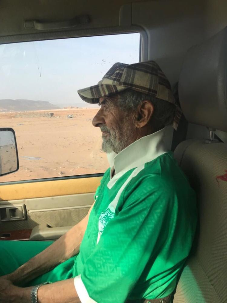 «سبعيني» يستعد للمشاركة في ماراثون «الرياض»