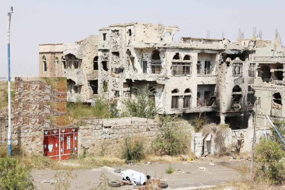 الأطراف الشرقية لمدينة تعز بعد تحريرها من الحوثي أخيراً. (تصوير: أحمد الباشا)