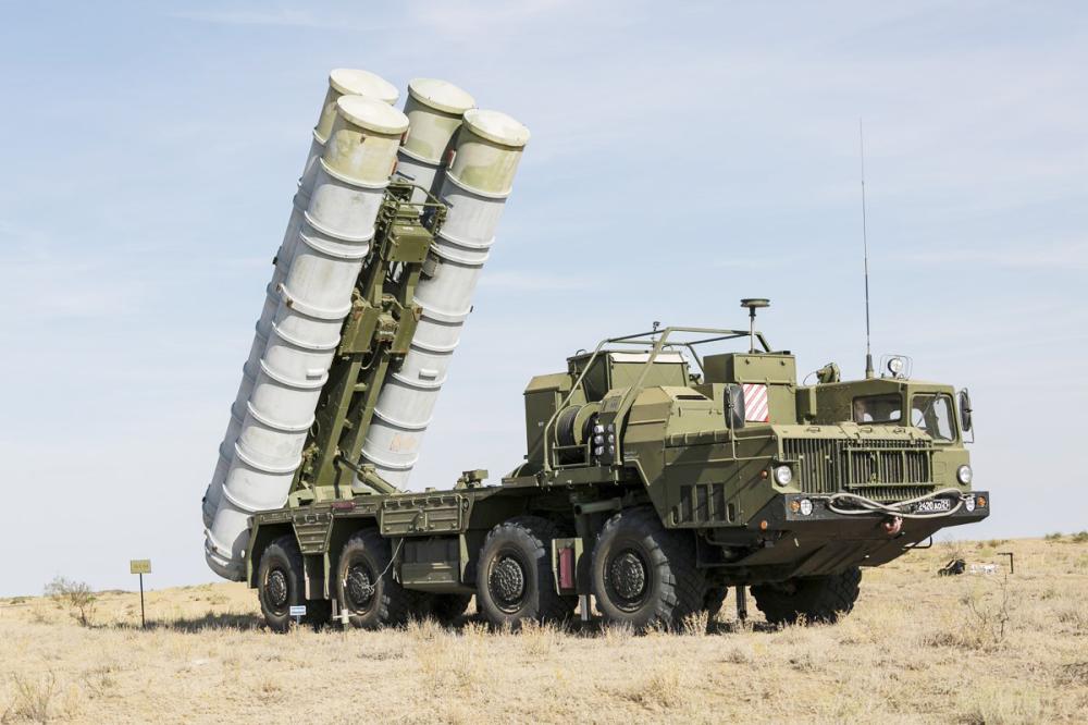 صواريخ إس 400 الروسية. (تاس)