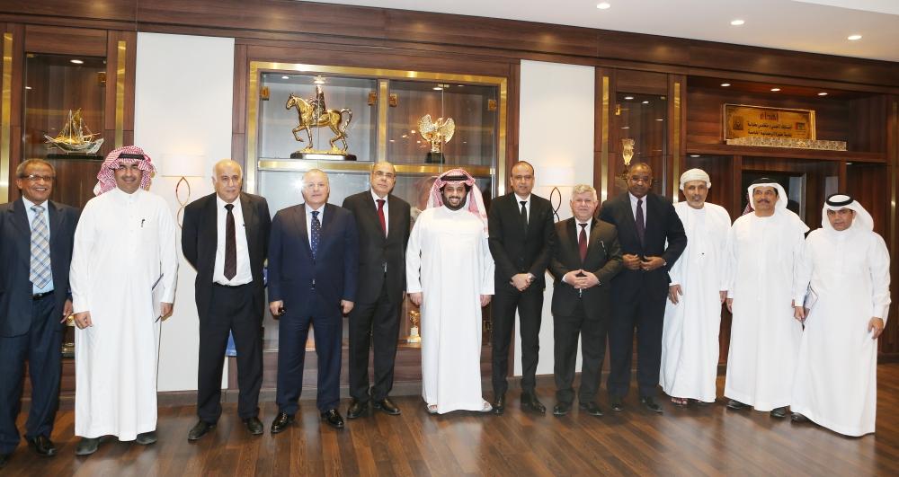 معالي رئيس الهئية العامة للرياضة في اجتماع اتحاد كورة القدم للاتحاد العربي=2