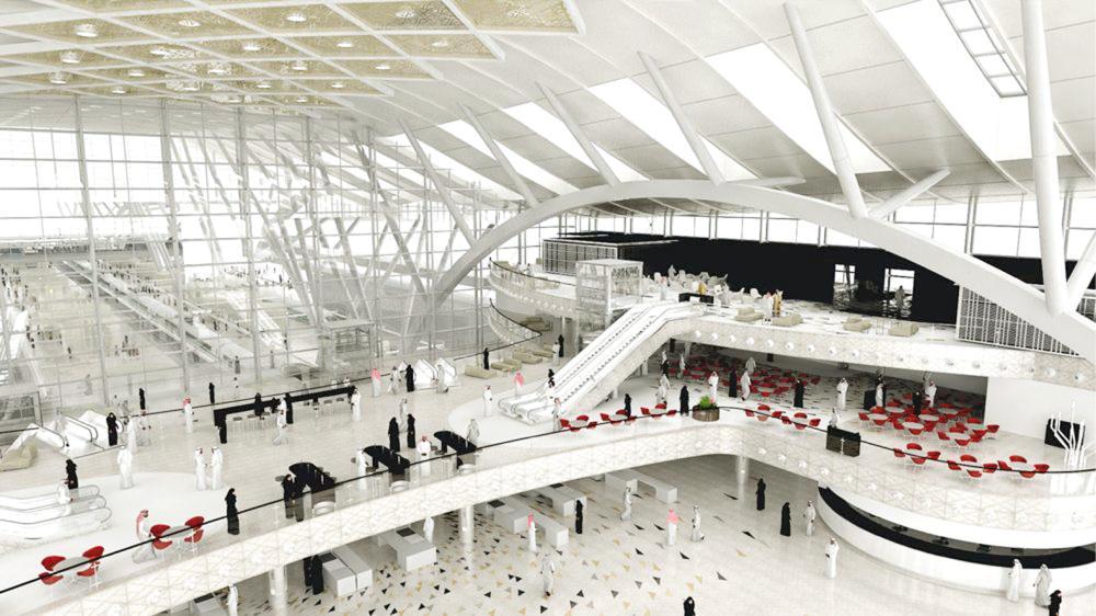 مطار الملك عبدالعزيز الدولي الجديد.