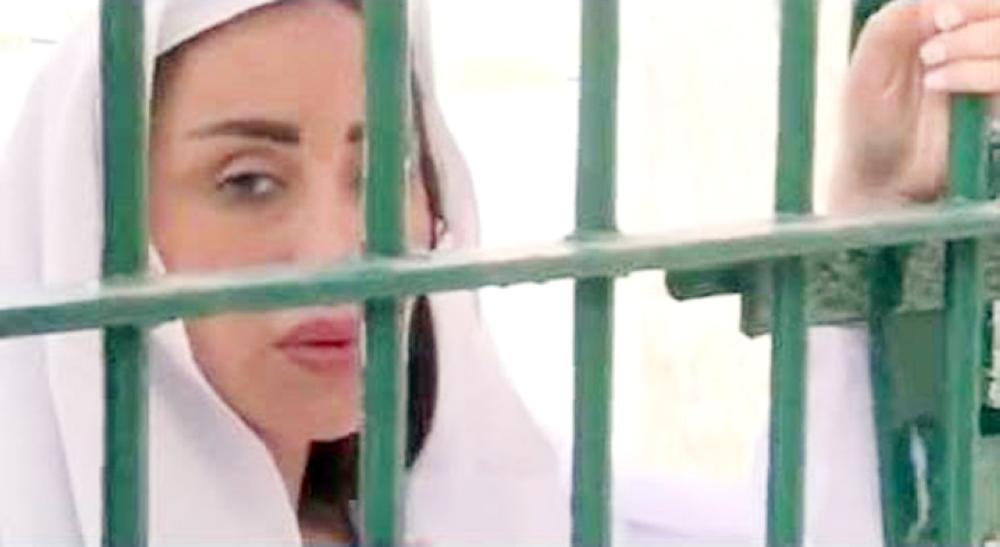 ريهام في سجن النساء بالقناطر.