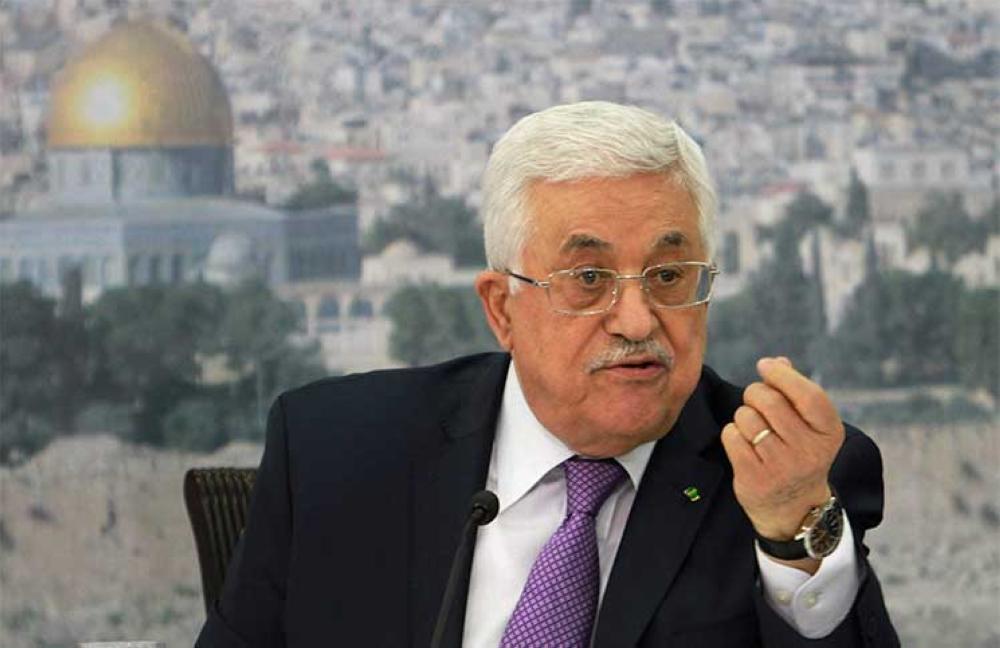 عباس: التفاف دولي وعربي حول الخطة التي تم طرحها في مجلس الأمن