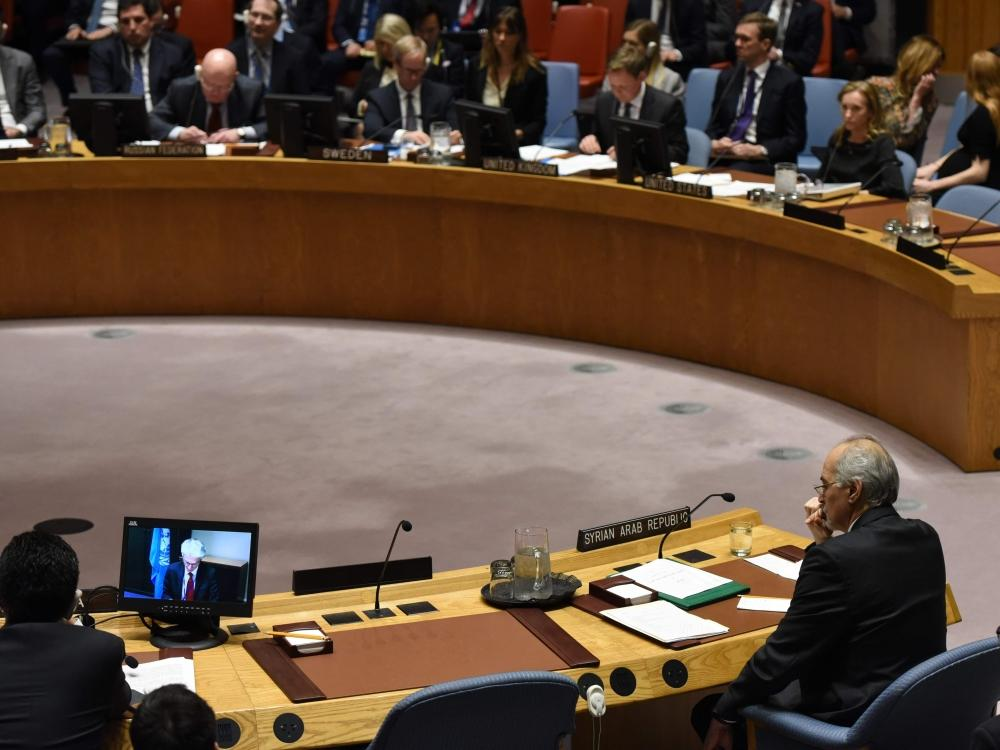 مجلس الأمن يوافق على هدنة 30 يوما في سورية