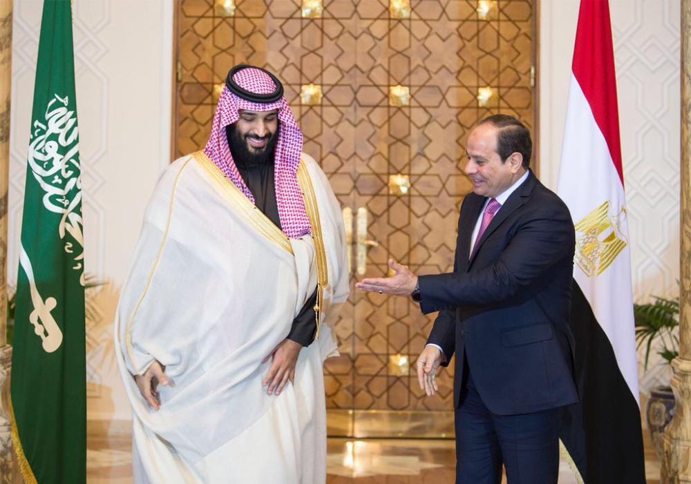 الأمير محمد بن سلمان في مصر