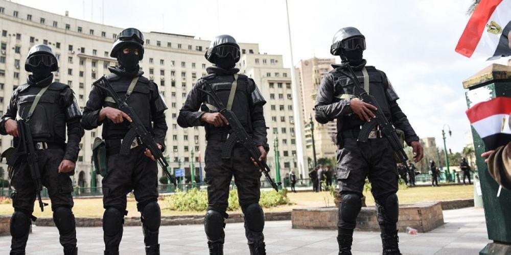 عناصر من الشرطة الخاصة المصرية